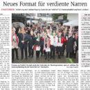 2018-01-08_Allgemeine_Zeitung_Ingelheim_-_Bingen_Neues_Format_fuer_verdiente_Narren